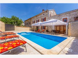 Villa Mutvoranka Krnica (Pula), Kwadratuur 123,00 m2, Accommodatie met zwembad