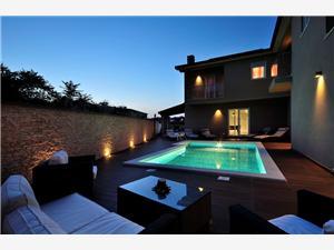 Villa Blauw Istrië,Reserveren Rovigno Vanaf 448 €