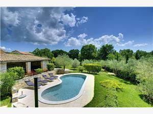 Casa Bianca Svetvincenat, квадратура 160,00 m2, размещение с бассейном