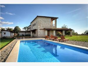 вилла Villa Corine Porec, квадратура 276,00 m2, размещение с бассейном