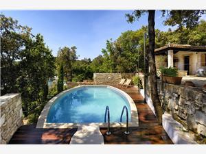 Mala Villa Krnica (Pula), квадратура 95,00 m2, размещение с бассейном, Воздуха удалённость от моря 60 m