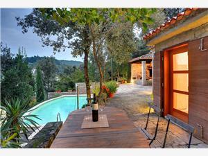 Mala Villa Krnica (Pula), Kwadratuur 95,00 m2, Accommodatie met zwembad, Lucht afstand tot de zee 60 m