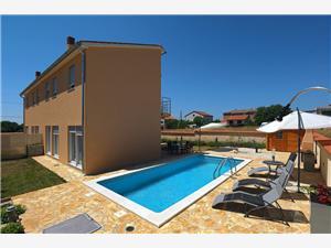 Villa Elena Liznjan, Rozloha 220,00 m2, Ubytovanie sbazénom, Vzdušná vzdialenosť od centra miesta 350 m