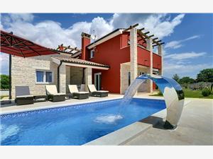 Villa Delle Rondini Krnica (Pula), Kwadratuur 230,00 m2, Accommodatie met zwembad