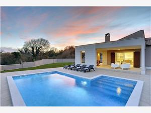 Villa Histria Krnica (Pula), Superficie 160,00 m2, Hébergement avec piscine