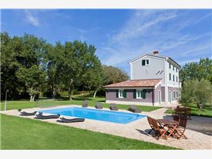 Villa Rustica Valbandon, Kvadratura 286,00 m2, Namestitev z bazenom