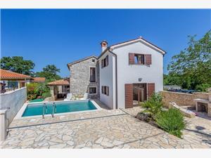 Mala Hiža Svetvincenat, квадратура 100,00 m2, размещение с бассейном