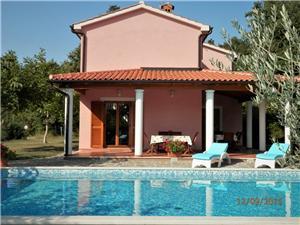 Casa Valmonida Zminj, Größe 119,00 m2, Privatunterkunft mit Pool