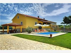 Villa Istriana Svetvincenat, квадратура 100,00 m2, размещение с бассейном