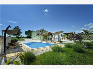 Villa Lana Svetvincenat, квадратура 95,00 m2, размещение с бассейном