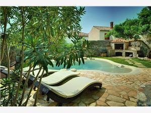 Villa BR Liznjan, Méret 90,00 m2, Szállás medencével, Központtól való távolság 250 m