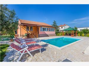 Casa Majoli Pula, Rozloha 106,00 m2, Ubytovanie sbazénom