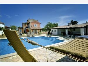 Villa Filipana Krnica (Pula), Kwadratuur 435,00 m2, Accommodatie met zwembad