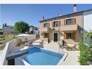 Casa Miceli Lisignano (Liznjan), Dimensioni 125,00 m2, Alloggi con piscina, Distanza aerea dal centro città 100 m