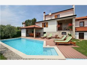 Casa Marina Porec, Méret 150,00 m2, Szállás medencével