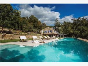 Villa Torrecorta Motovun, Prostor 300,00 m2, Soukromé ubytování s bazénem