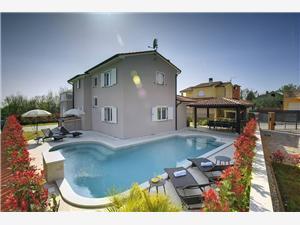 Accommodatie met zwembad Blauw Istrië,Reserveren Loborika Vanaf 193 €