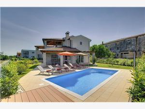 Villa Sunset Novigrad, Méret 225,00 m2, Szállás medencével
