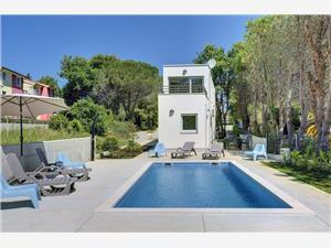 Villa Chiara Premantura, Prostor 107,00 m2, Soukromé ubytování s bazénem, Vzdušní vzdálenost od moře 240 m