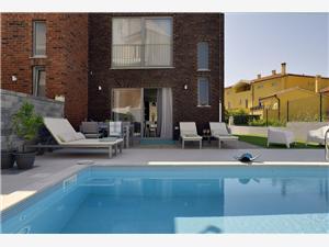 Villa Vili Lisignano (Liznjan), Dimensioni 120,00 m2, Alloggi con piscina, Distanza aerea dal centro città 800 m
