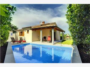 Casa Mareti Liznjan, Rozloha 74,00 m2, Ubytovanie sbazénom, Vzdušná vzdialenosť od centra miesta 300 m