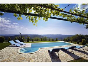 Villa Bella Pazin, Größe 200,00 m2, Privatunterkunft mit Pool