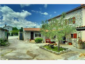 Casa Batelani Barban, Superficie 80,00 m2