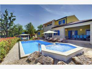 Villa Francesca Žminj, Kvadratura 280,00 m2, Smještaj s bazenom
