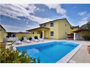 Villa Monica Vodnjan, Kvadratura 250,00 m2, Namestitev z bazenom