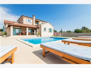 Villa Rose Svetvincenat, квадратура 160,00 m2, размещение с бассейном