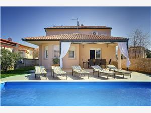 Villa Rudy Valbandon, Rozloha 180,00 m2, Ubytovanie sbazénom