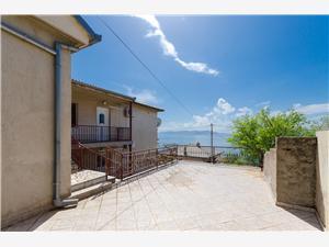 Ferienwohnungen Nada Senj, Größe 80,00 m2, Entfernung vom Ortszentrum (Luftlinie) 500 m