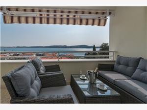 Apartmá Eli Chorvatsko, Prostor 75,00 m2, Vzdušní vzdálenost od moře 100 m
