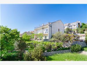 Appartements et Chambre Drazen Novi Vinodolski (Crikvenica), Superficie 16,00 m2, Distance (vol d'oiseau) jusqu'au centre ville 500 m