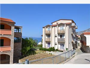 Apartma Angelina Makarska riviera, Kvadratura 100,00 m2