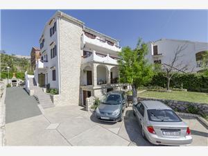 Апартаменты Špavalo Pag - ostrov Pag, квадратура 55,00 m2, Воздуха удалённость от моря 250 m, Воздух расстояние до центра города 350 m