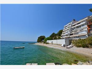 Beachfront accommodation Split and Trogir riviera,Book Anja From 71 €