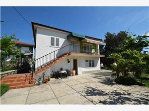 Apartments Hana Krk - island Krk, Size 75.00 m2, Airline distance to town centre 200 m
