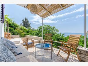 Dom Mavi Okrug Gornji (Ciovo), Powierzchnia 90,00 m2, Odległość do morze mierzona drogą powietrzną wynosi 10 m