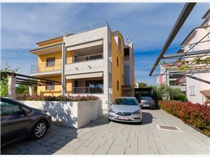 Apartmán Goran Modrá Istria, Rozloha 50,00 m2, Vzdušná vzdialenosť od centra miesta 800 m