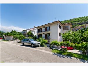 Apartmány Grga Rijeka a Riviéra Crikvenica, Prostor 95,00 m2, Vzdušní vzdálenost od centra místa 600 m
