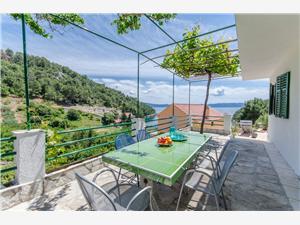 Kuća za odmor Filip Bogomolje (otok Hvar), Kuća na osami, Kvadratura 40,00 m2, Zračna udaljenost od mora 50 m