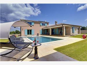Villa Desire Svetvincenat, Powierzchnia 212,00 m2, Kwatery z basenem