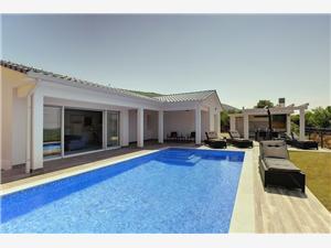 Villa La Vita Labin, Kvadratura 120,00 m2, Smještaj s bazenom