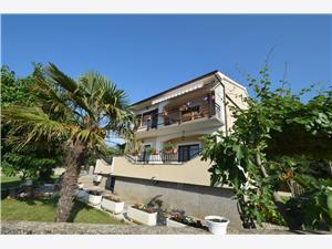 Appartamenti Meri Malinska - isola di Krk,Prenoti Appartamenti Meri Da 72 €
