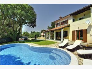 Villa Nina Medulin, квадратура 145,00 m2, размещение с бассейном, Воздух расстояние до центра города 250 m