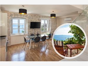 Vila Ena Makarska rivijera, Kvadratura 150,00 m2, Smještaj s bazenom