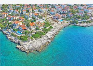 Apartmány Sanja Chorvátsko, Rozloha 65,00 m2, Vzdušná vzdialenosť od mora 49 m