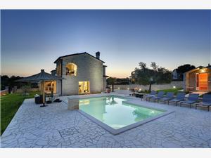 Villa Paradiso Rovinj, Prostor 180,00 m2, Soukromé ubytování s bazénem