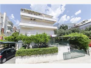 Apartmaji Ružica Makarska, Kvadratura 75,00 m2, Oddaljenost od morja 200 m